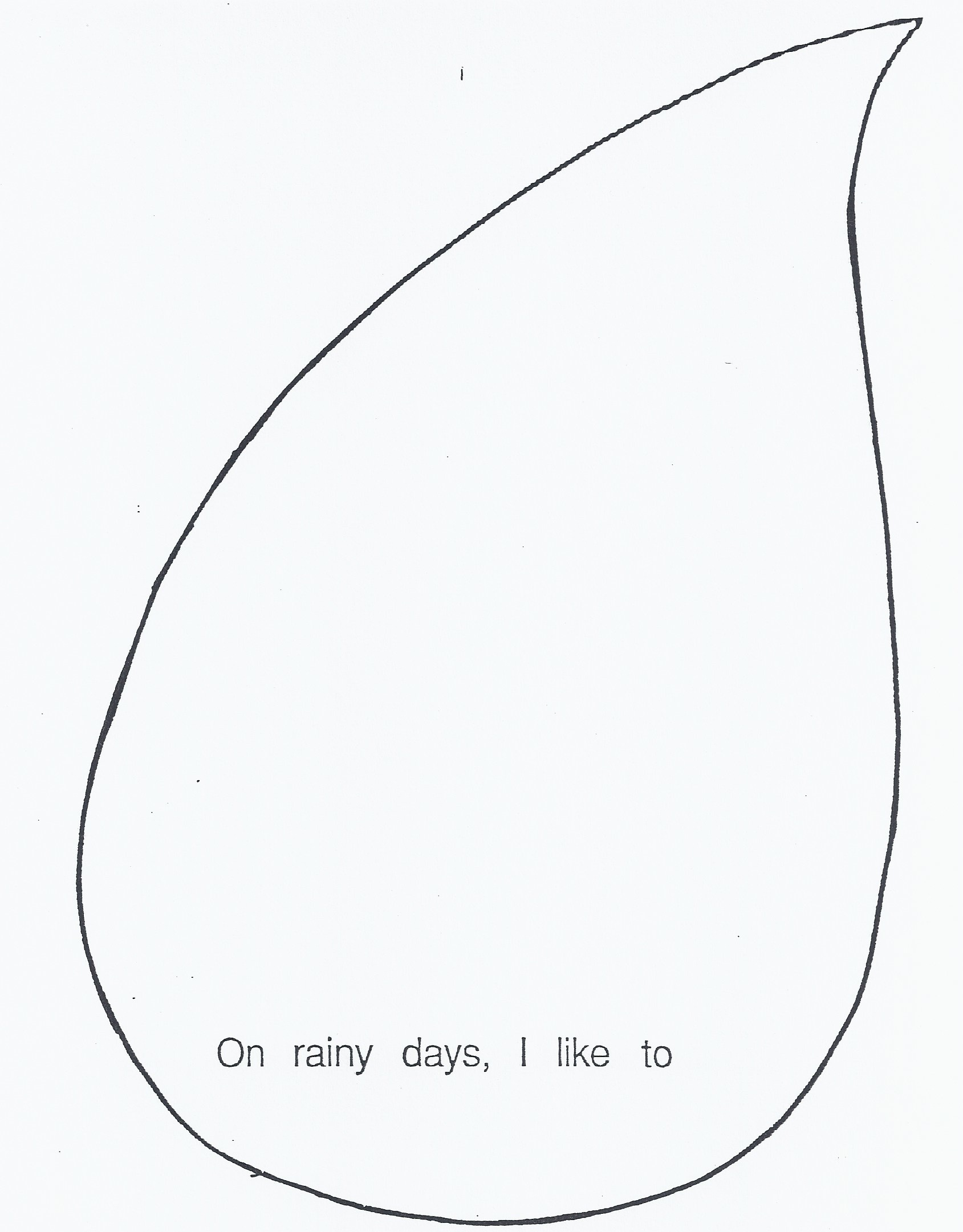Free Rain Drop Template Download Free Clip Art Free Clip Art On Clipart Library