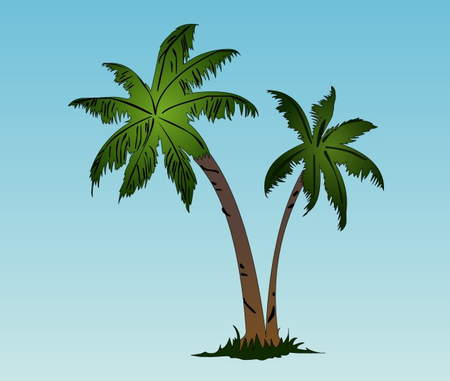 Clip Arts Related To Free To Use Public Domain Palm Tree Clip Art