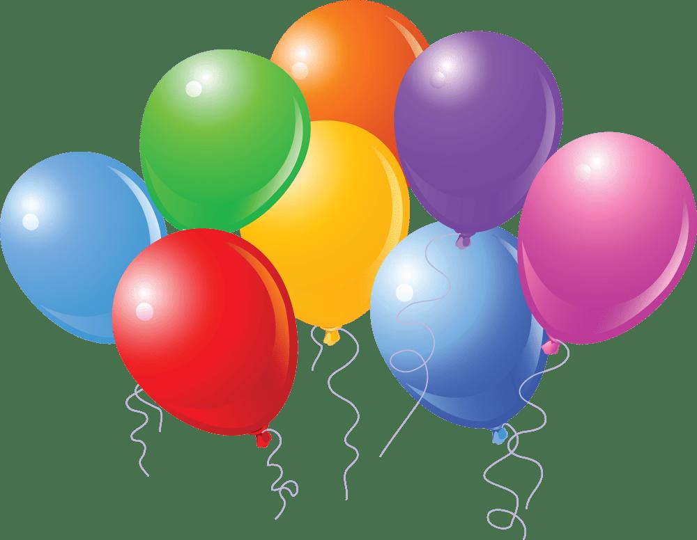 medium resolution of birthday balloons cartoon clipart library