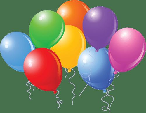 small resolution of birthday balloons cartoon clipart library