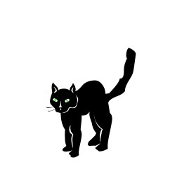 halloween black cat clipart clipart library free clipart images [ 1991 x 1674 Pixel ]