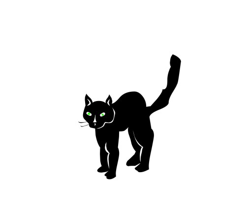 small resolution of halloween black cat clipart clipart library free clipart images