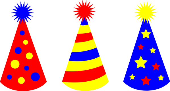 Birthday Hat Clip Art Clipart Library - Free