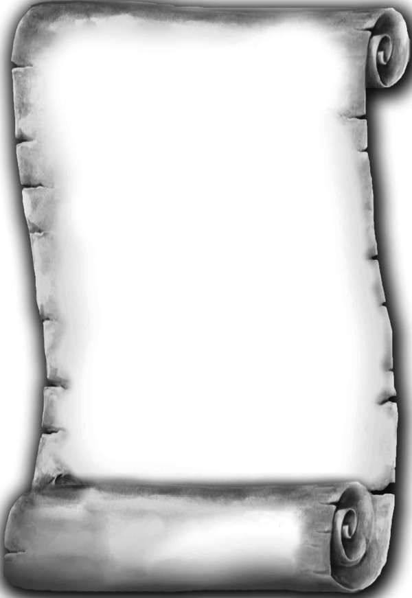 Old Scroll Paper Template
