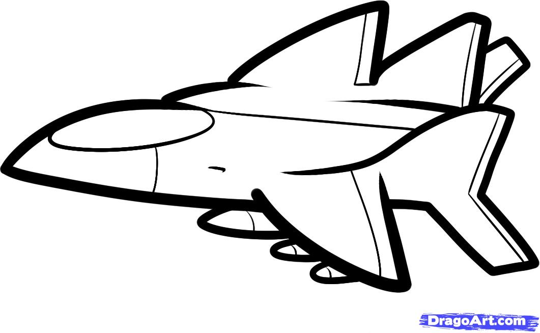 Free Aeroplane Drawing For Kids, Download Free Clip Art