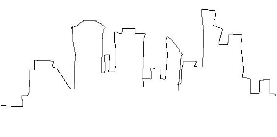 Free Skyline Drawing, Download Free Clip Art, Free Clip