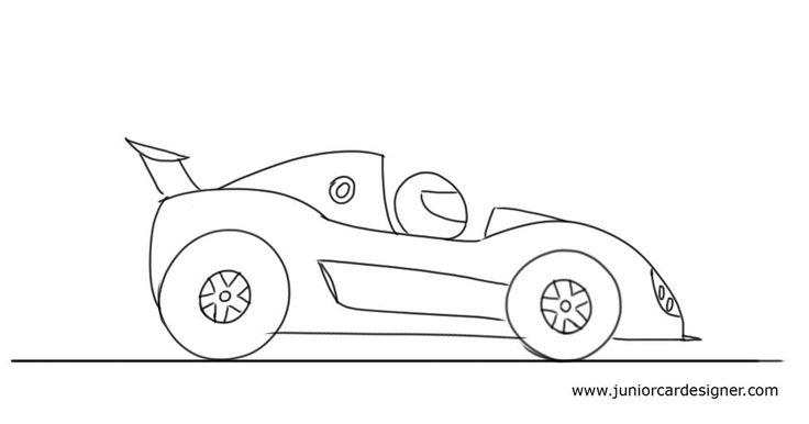 Free Pics Of Cartoon Racing Cars, Download Free Clip Art