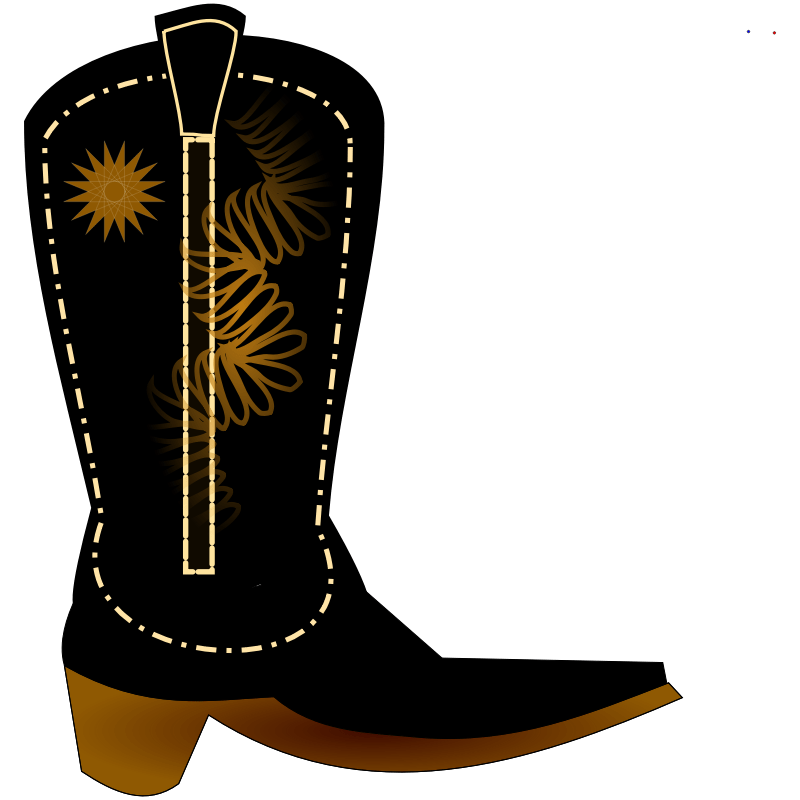 Cowboy Boots Metal