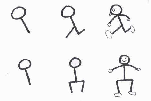 Free How To Draw A Stick Figure Dog, Download Free Clip