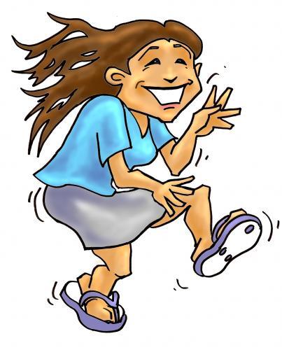 Happy Dance Cartoons : happy, dance, cartoons, Dancing, Funny, Cartoon, Library