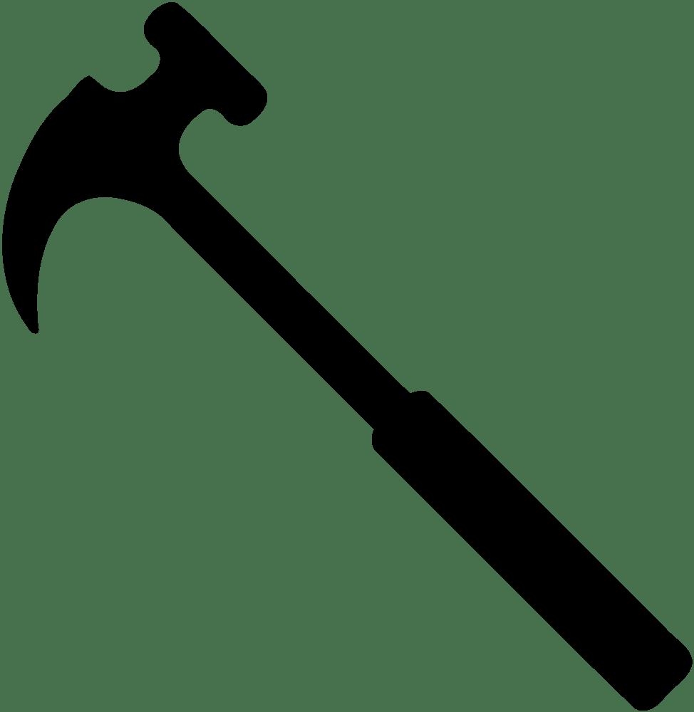 medium resolution of onlinelabels clip art hammer