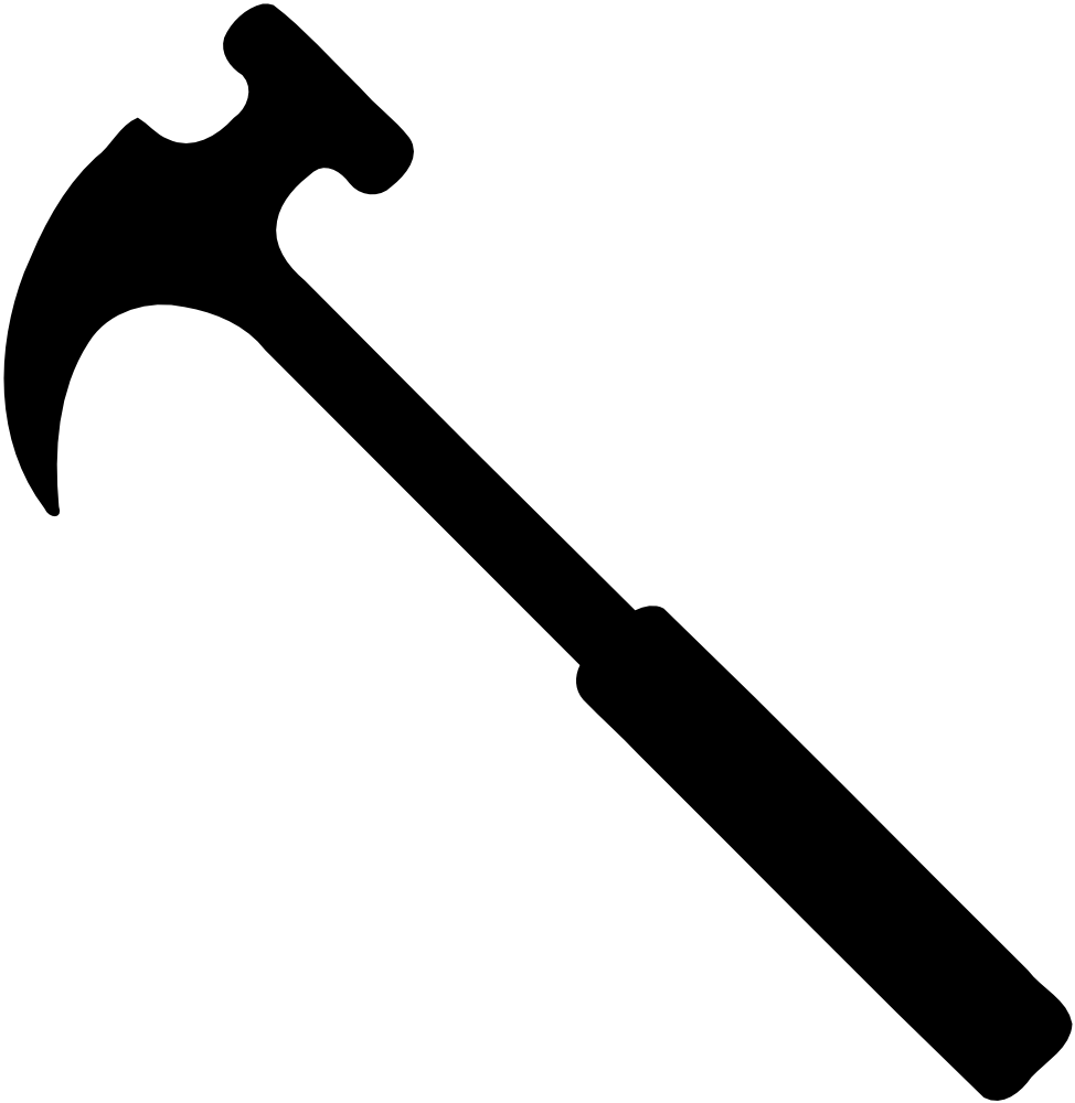 hight resolution of onlinelabels clip art hammer