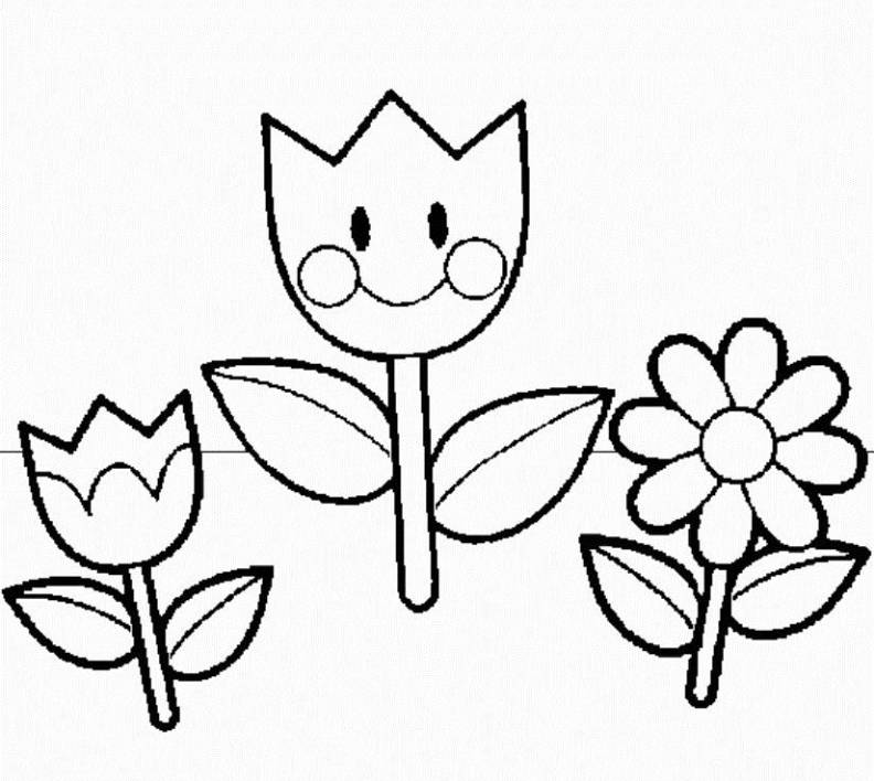 Free Cartoon Spring Flowers, Download Free Clip Art, Free