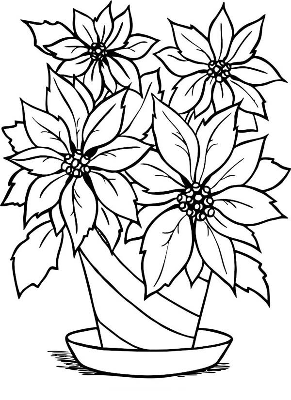 Free Flower Pot Outline, Download Free Clip Art, Free Clip