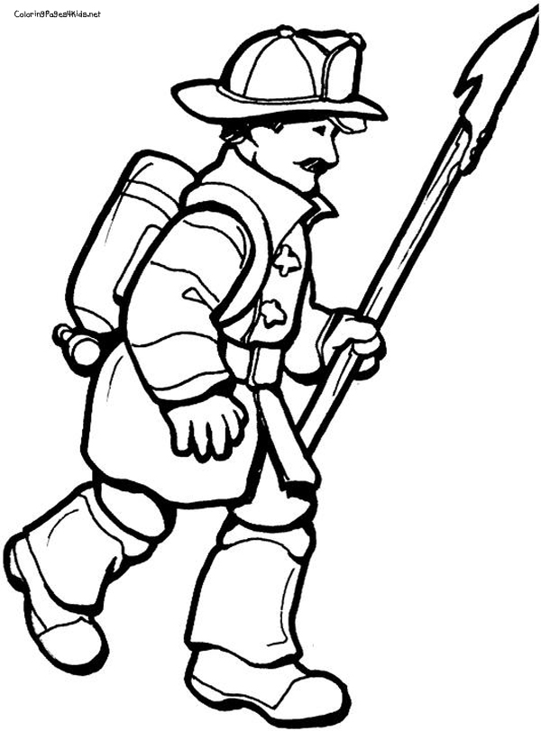 Free Cartoon Fire Fighter, Download Free Clip Art, Free