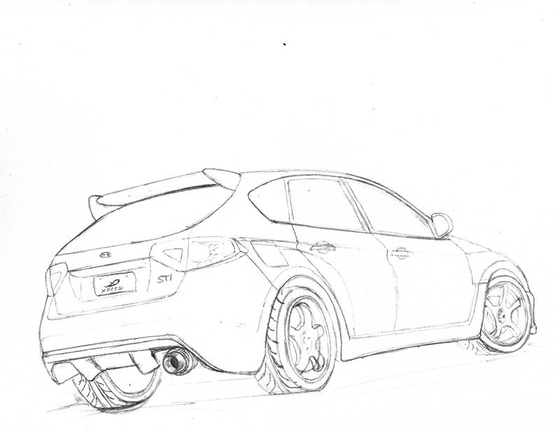 Nissan 240sx Car Coloring Pages Sketch Coloring Page