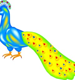 images for peacock cartoon clip art [ 1497 x 1317 Pixel ]