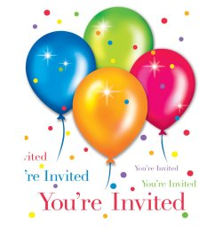 birthday party balloons clipart images pictures becuo [ 1600 x 1600 Pixel ]