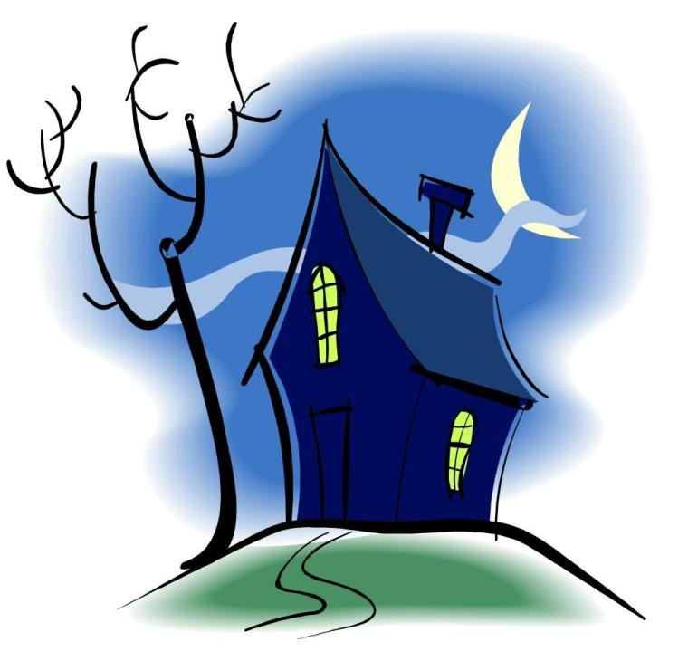Free Pictures Of Cartoon Haunted Houses Download Free