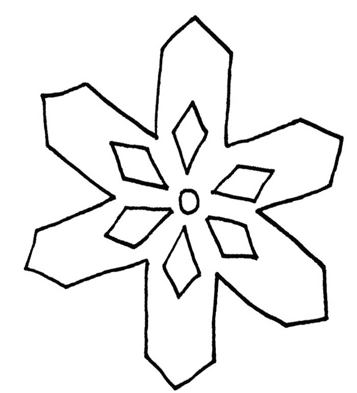 Free Snowflake Outline, Download Free Clip Art, Free Clip