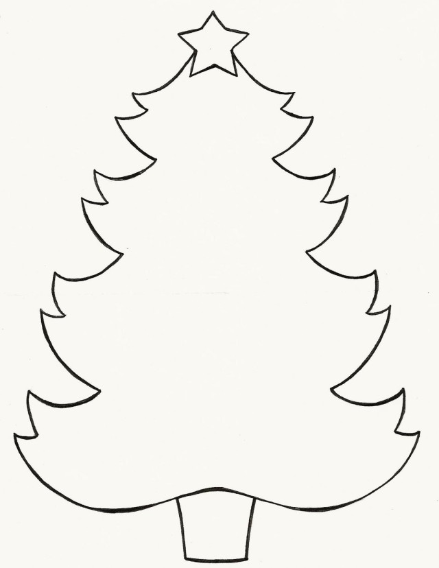 Free Stencil Of A Tree Outline, Download Free Clip Art