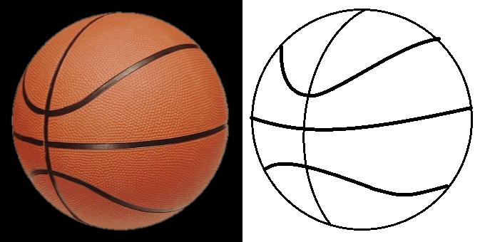 Basketball Court Clip Art