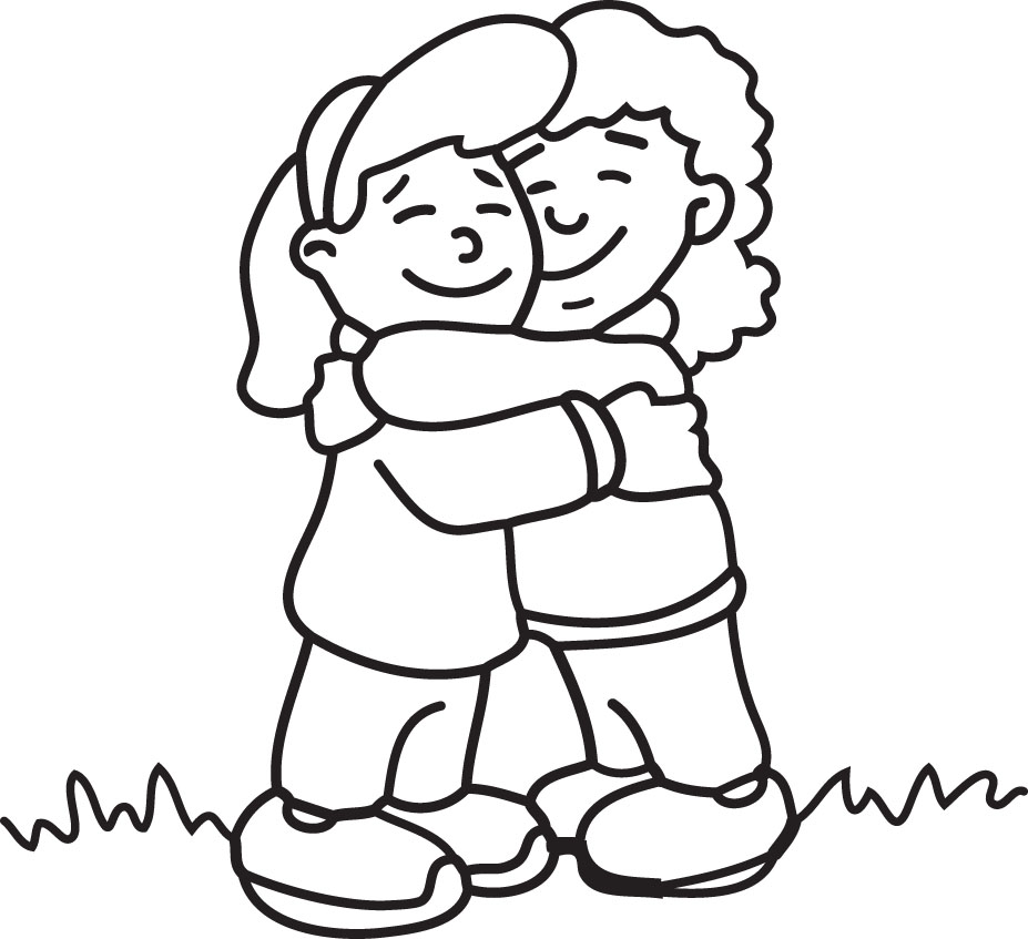 Free Friends Hugging Clipart, Download Free Clip Art, Free