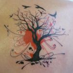 Fall Trees And Leaves Tattoos Clip Art Library
