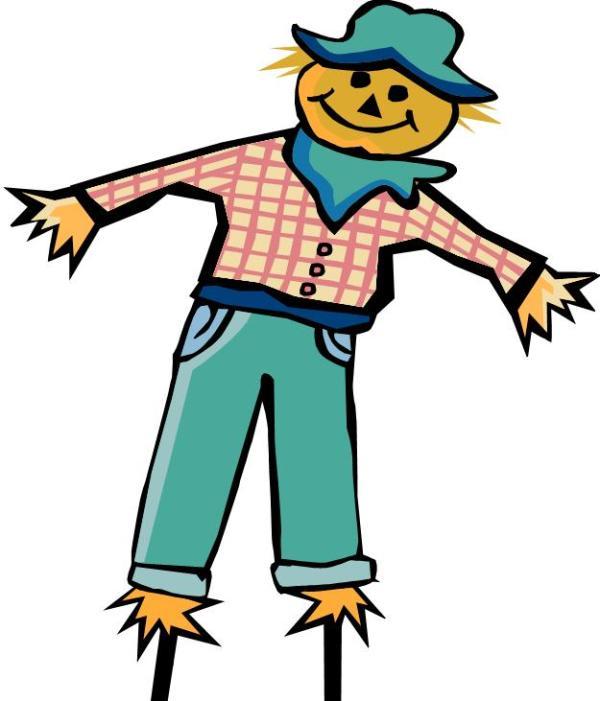 free scarecrow clip