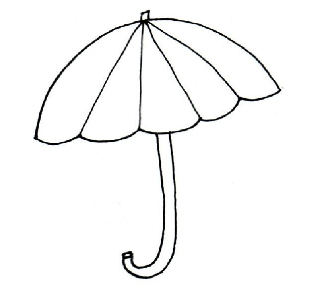 Free Umbrella Template Printable, Download Free Clip Art