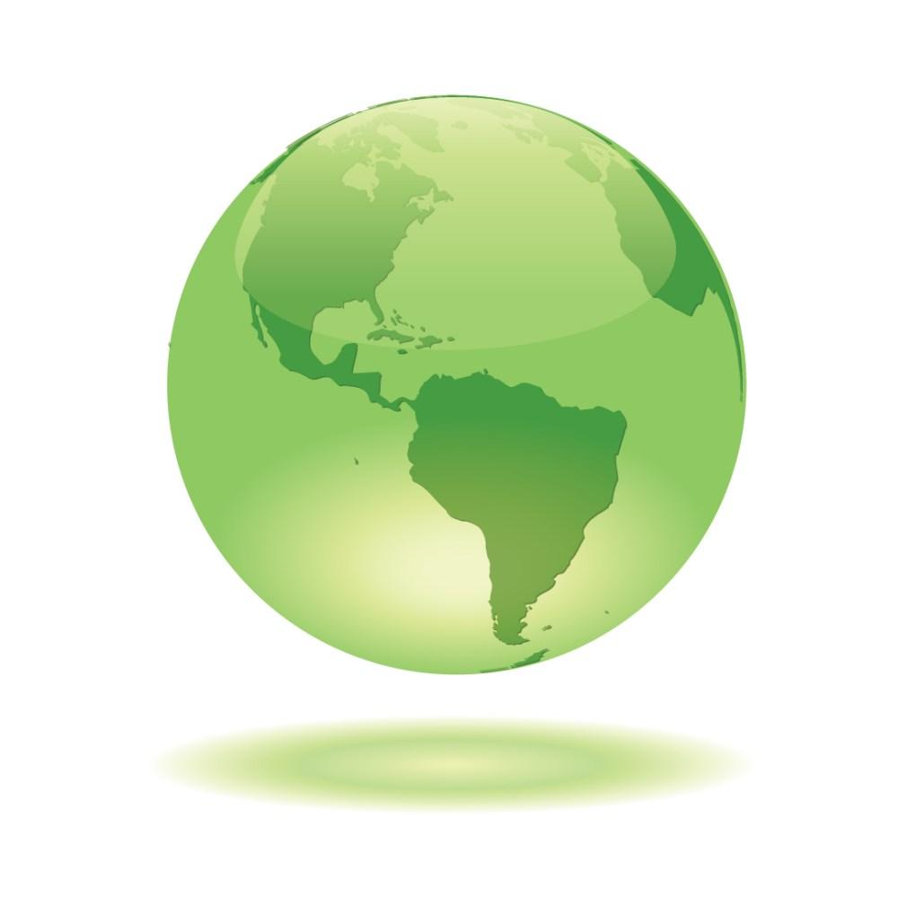 medium resolution of free globe vector green glass globe glowing on white background