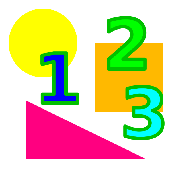 Math Numbers Clip Art Free