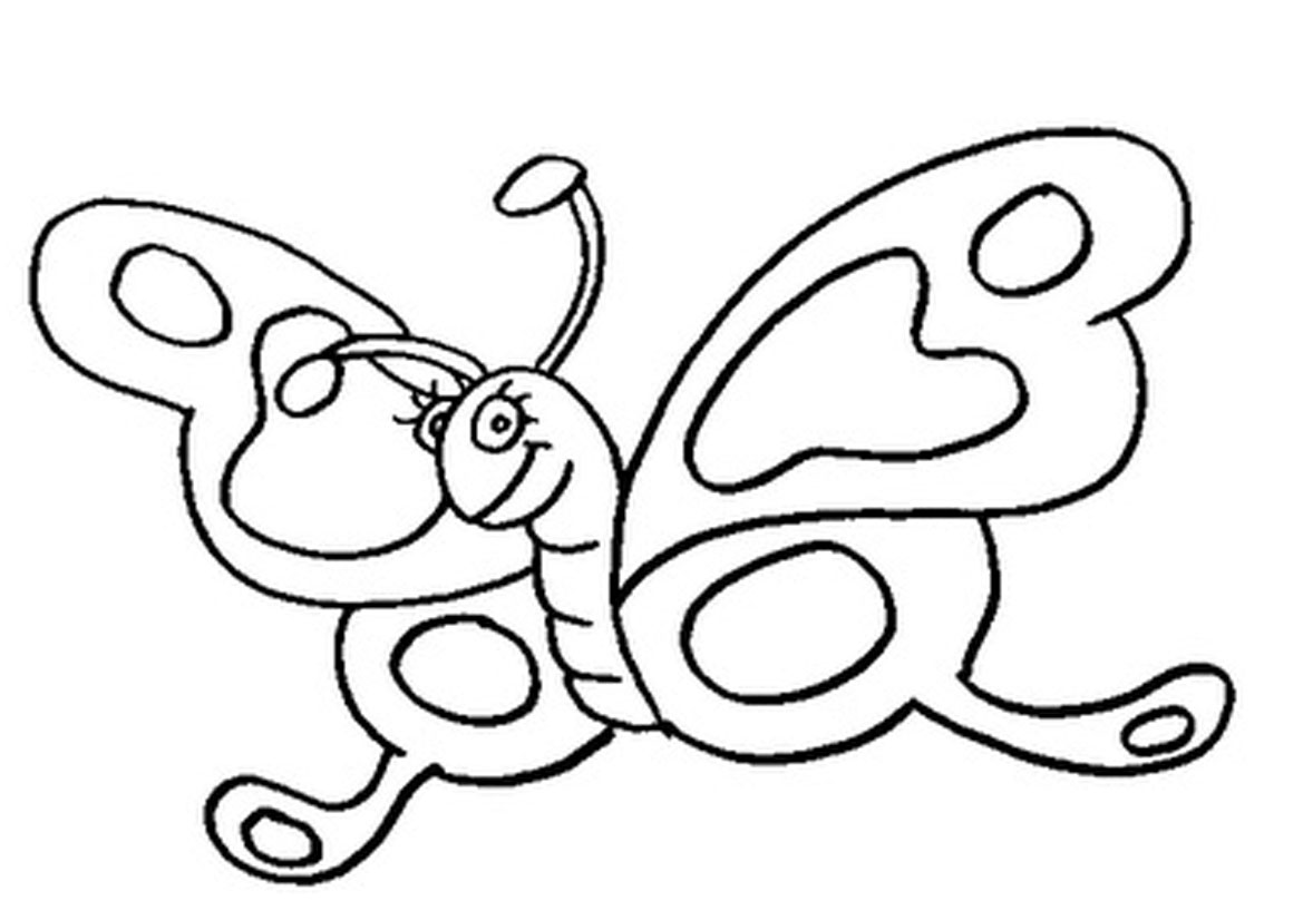Printable Butterflies Coloring Pages, Free Printable