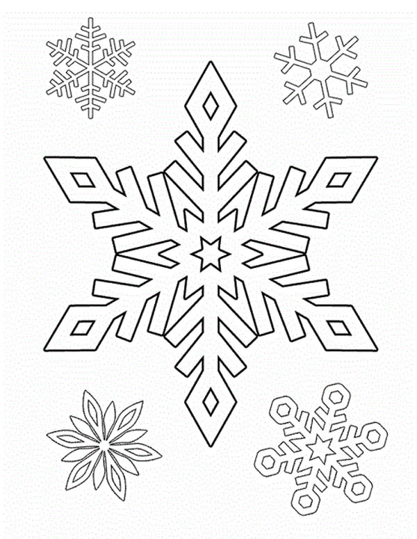 16 Snowflake drawing easy ideas | snowflakes drawing