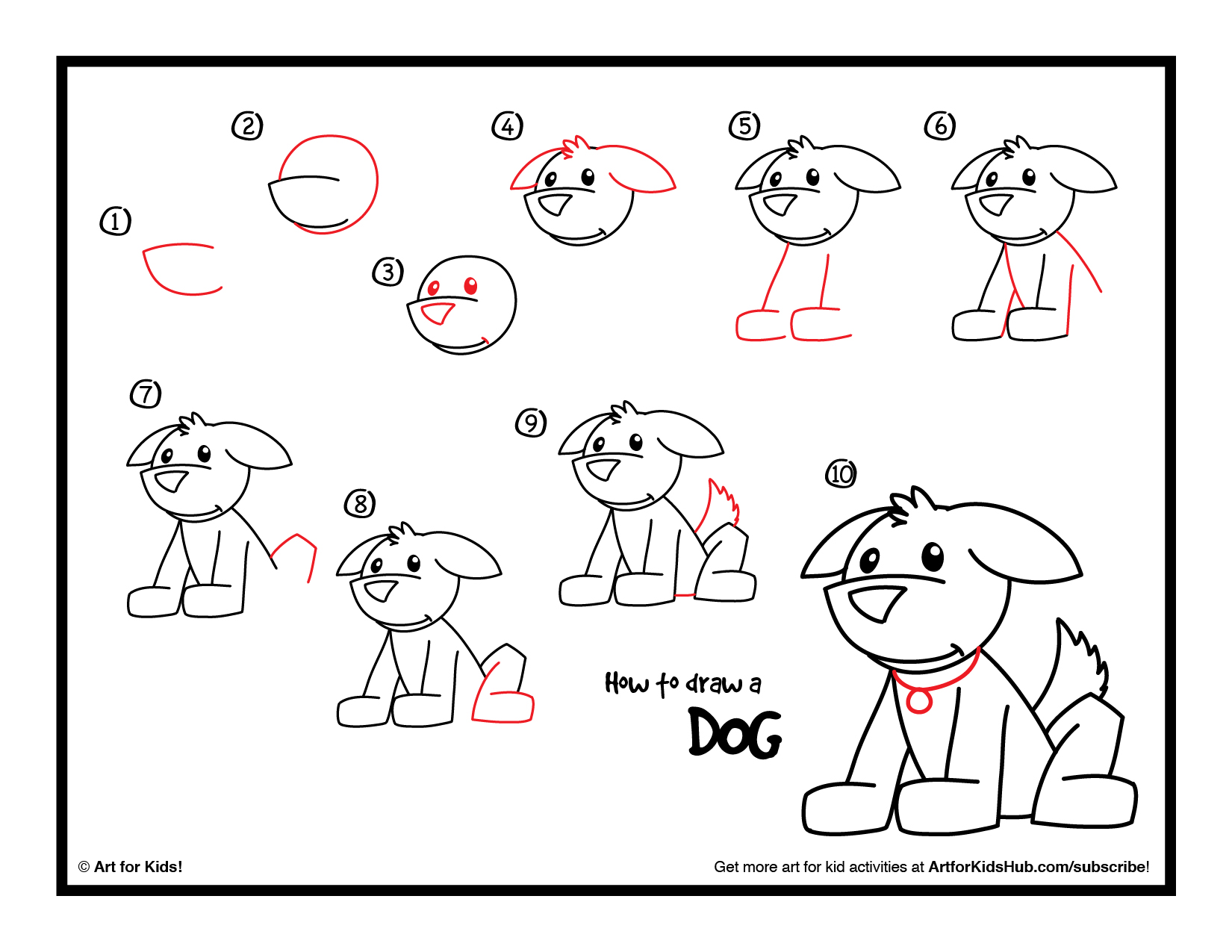 Free Simple Line Drawing Of A Dog, Download Free Clip Art