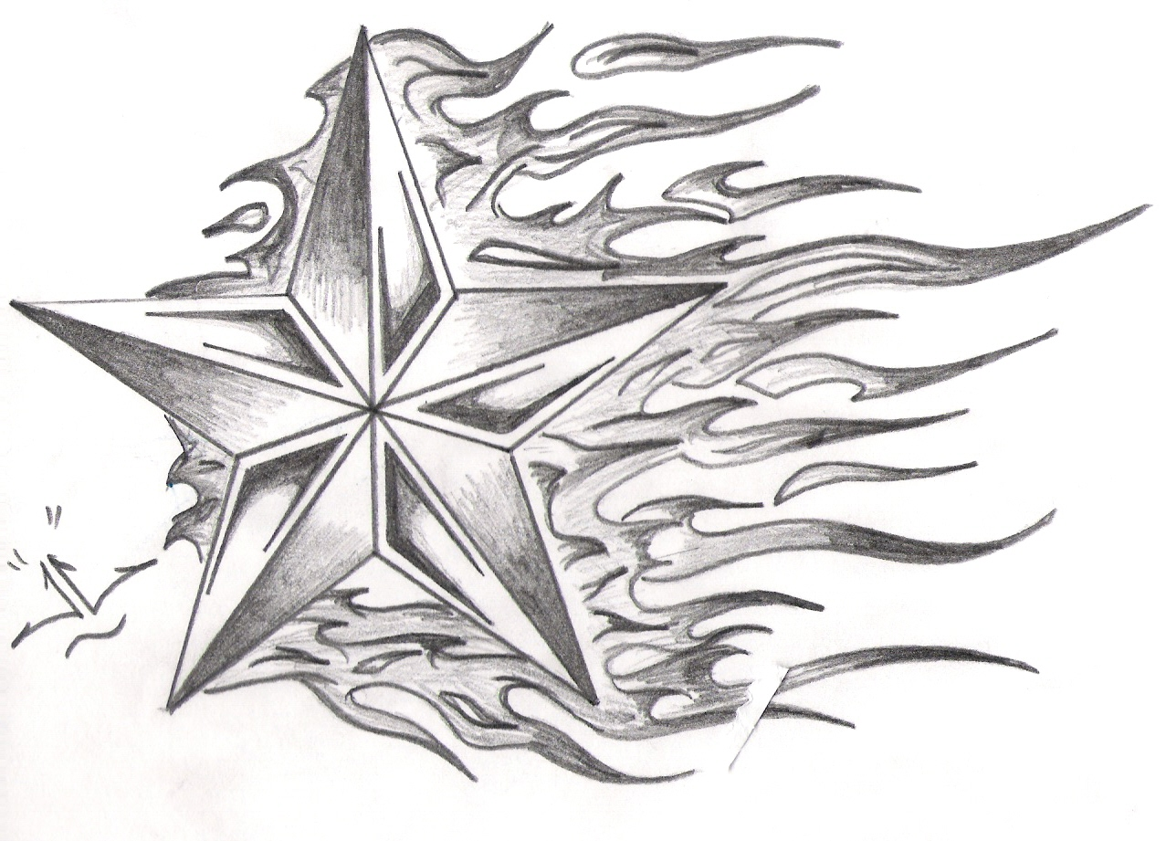 Photo Drawings Of Stars Images
