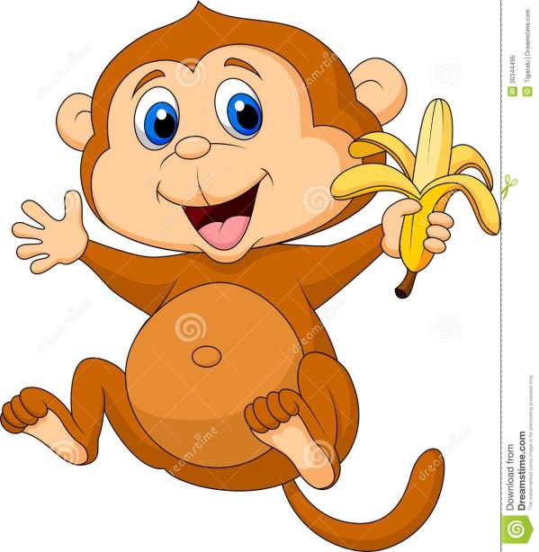 free monkey cartoons