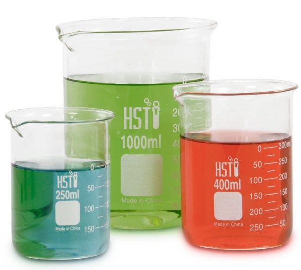 Free Science Beakers Clip Art