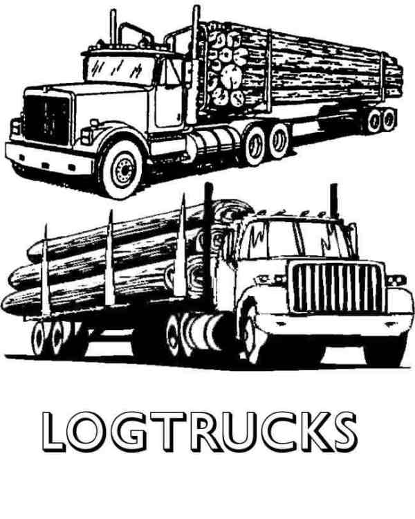 20 Log Truck Clip Art Black And White Side View Ideas And Designs