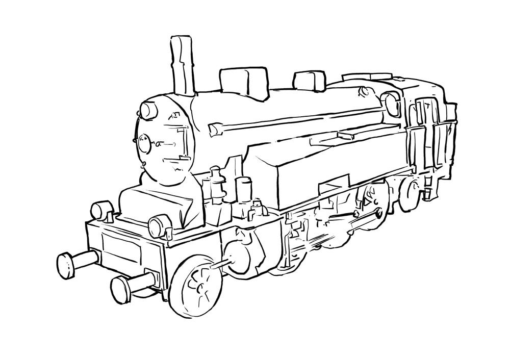 Free Train Outline, Download Free Clip Art, Free Clip Art