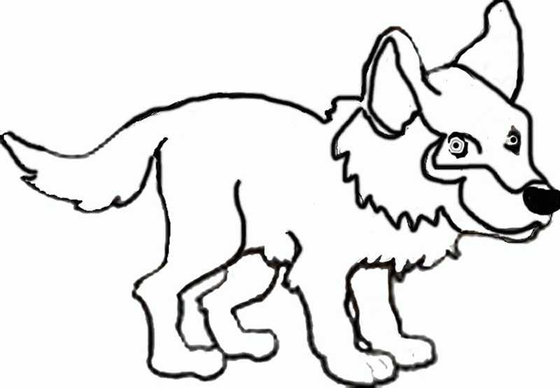 Free Wolf Cartoon, Download Free Clip Art, Free Clip Art
