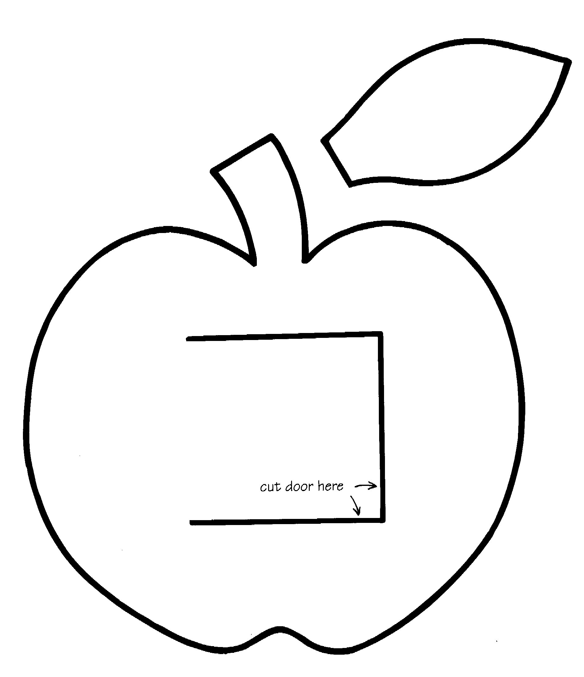 Free Apple Leaf Template Download Free Clip Art Free