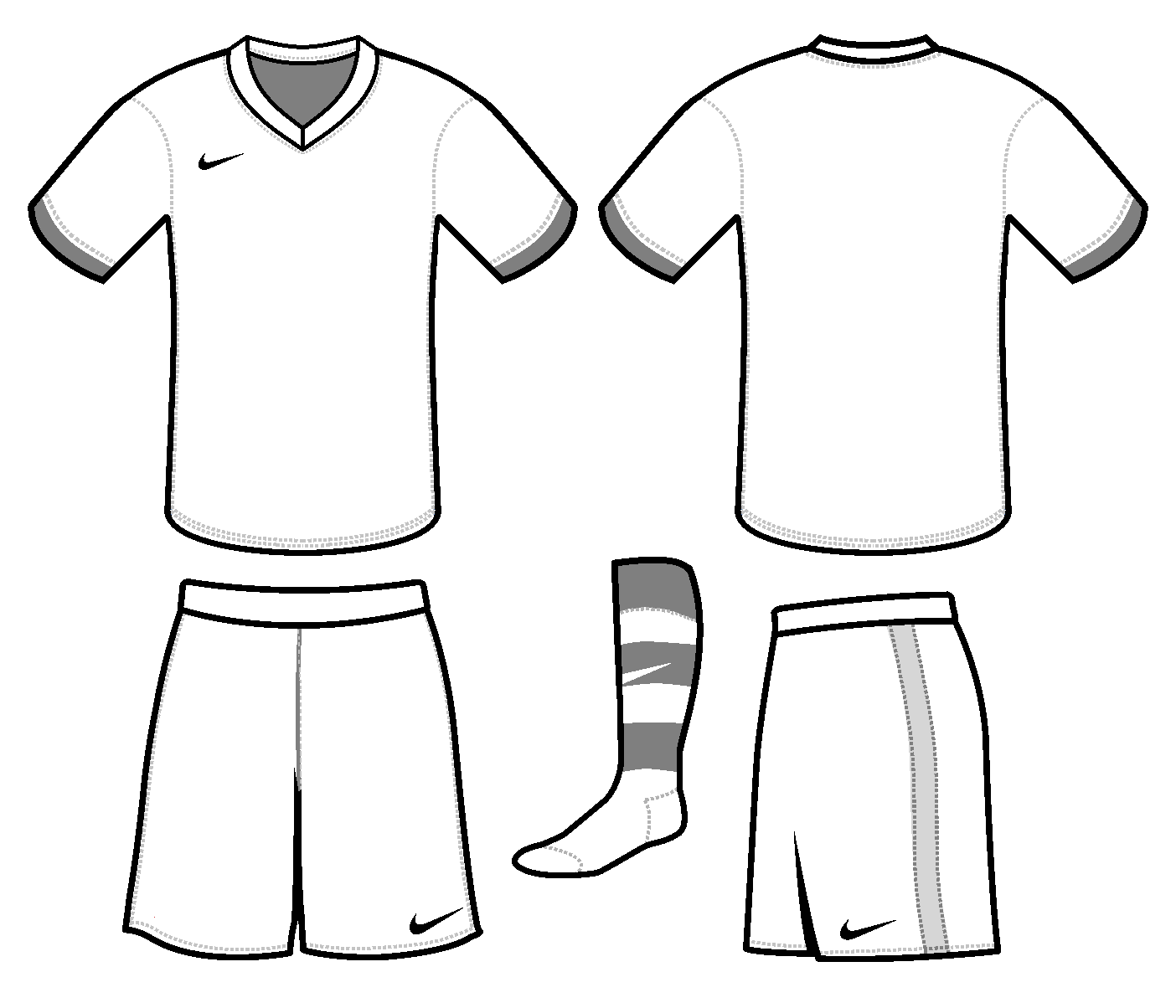 Free Blank Soccer Jersey Template Download Free Clip Art