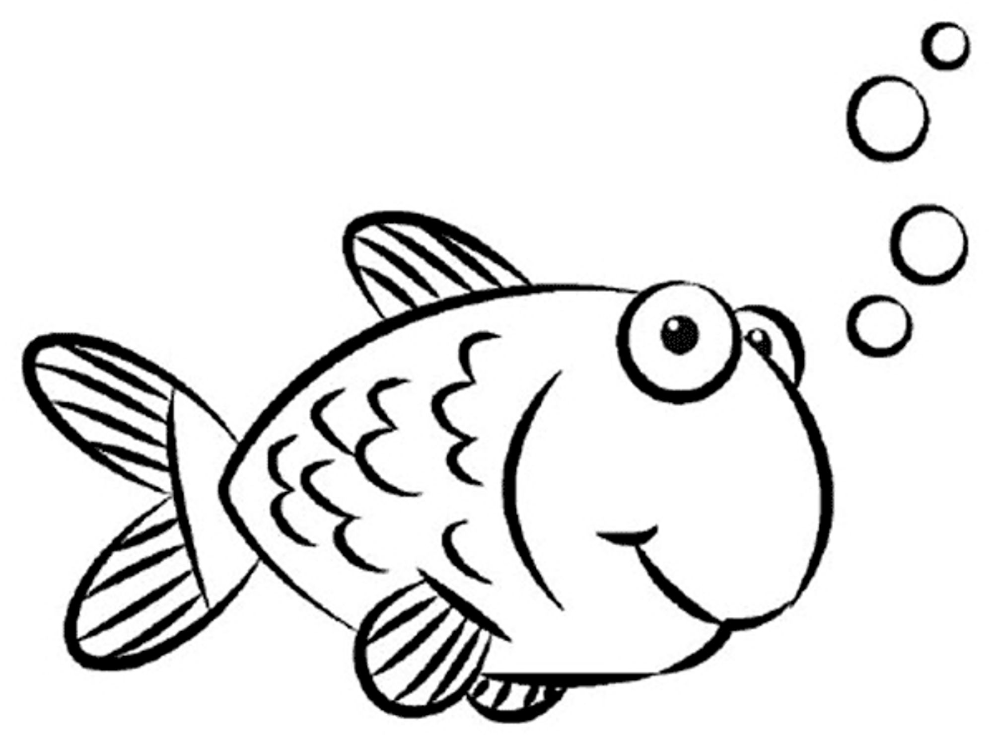 Free Simple Fish Drawing For Kids Download Free Clip Art