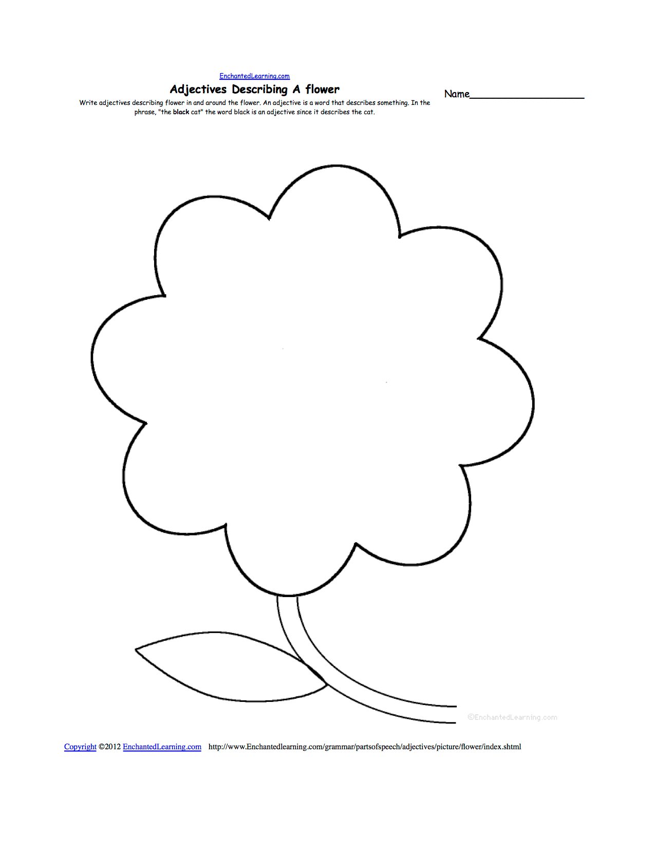 Free Blank Flower Template Download Free Clip Art Free Clip Art On Clipart Library