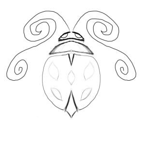 ladybugs drawing bugs ladybug easy draw lady sketch bug tattoos clipart cliparts vector coloring library iconography creating clip popular getdrawings
