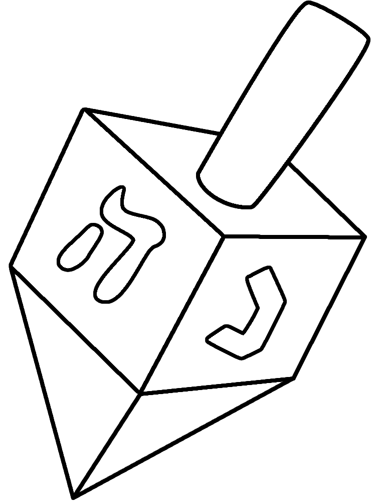 Free Pictures Of Dreidels, Download Free Clip Art, Free
