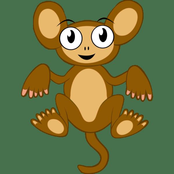 free monkey cartoon