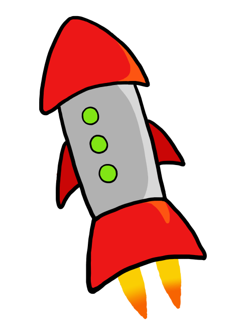 small resolution of rocket clip art clipart library