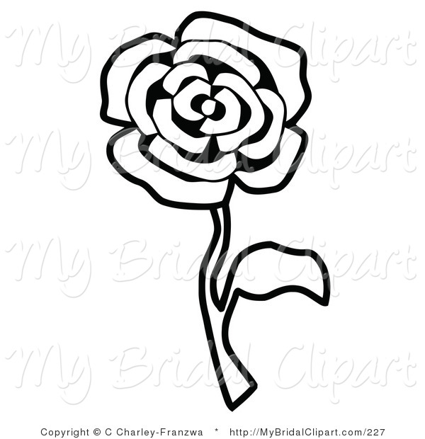 Free Rose Black And White, Download Free Clip Art, Free